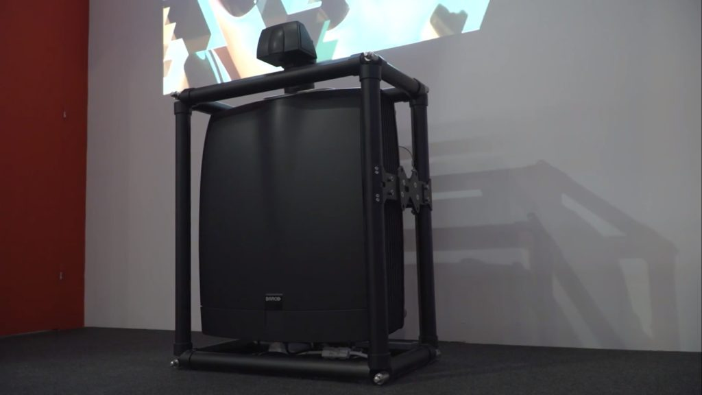 BARCO Projectors with Ultra Short Throw lens – Actual Technology